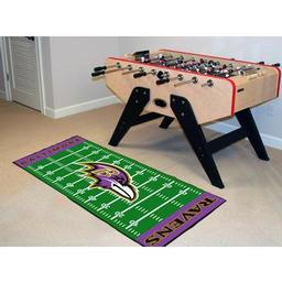 "Click here to learn more about the Baltimore Ravens Runner 30""x72""."