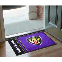 "Click here to learn more about the Baltimore Ravens Uniform Inspired Starter Rug 20""x30""."