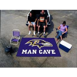 Click here to learn more about the Baltimore Ravens Man Cave UltiMat Rug 5''x8''.