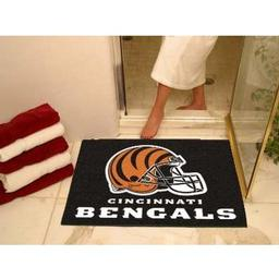 "Click here to learn more about the Cincinnati Bengals All-Star Mat 33.75""x42.5""."