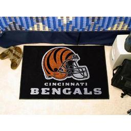 "Click here to learn more about the Cincinnati Bengals Starter Rug 20""x30""."