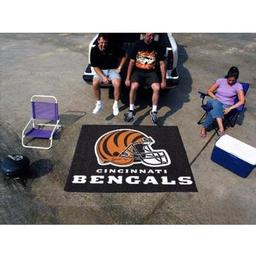 Click here to learn more about the Cincinnati Bengals Tailgater Rug 5''x6''.