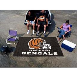 Click here to learn more about the Cincinnati Bengals Ulti-Mat 5''x8''.