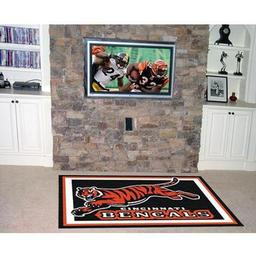 Click here to learn more about the Cincinnati Bengals Rug 5''x8''.