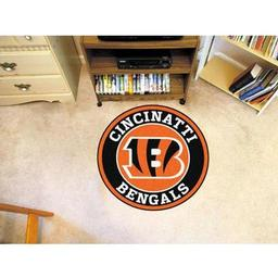 Click here to learn more about the Cincinnati Bengals Roundel Mat.