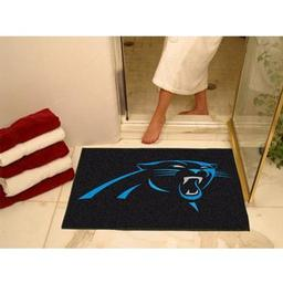 "Click here to learn more about the Carolina Panthers All-Star Mat 33.75""x42.5""."
