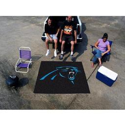 Click here to learn more about the Carolina Panthers Tailgater Rug 5''x6''.