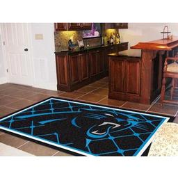 Click here to learn more about the Carolina Panthers Rug 5''x8''.