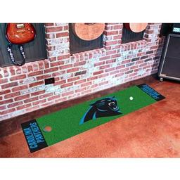 Click here to learn more about the Carolina Panthers PuttingNFL - Green Runner.
