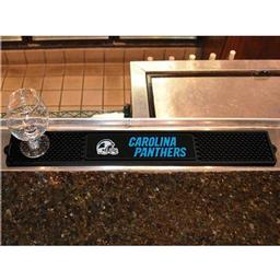 "Click here to learn more about the Carolina Panthers Drink Mat 3.25""x24""."