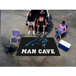 Click here to learn more about the Carolina Panthers Man Cave UltiMat Rug 5''x8''.