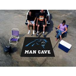 Click here to learn more about the Carolina Panthers Man Cave Tailgater Rug 5''x6''.