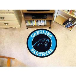 Click here to learn more about the Carolina Panthers Roundel Mat.