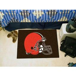 "Click here to learn more about the Cleveland Browns Starter Rug 20""x30""."