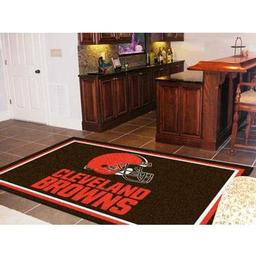 Click here to learn more about the Cleveland Browns Rug 5''x8''.