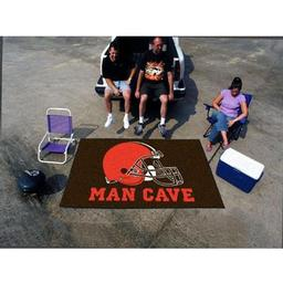 Click here to learn more about the Cleveland Browns Man Cave UltiMat Rug 5''x8''.