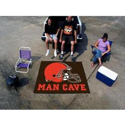 Click here to learn more about the Cleveland Browns Man Cave Tailgater Rug 5''x6''.
