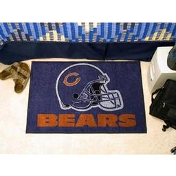 "Click here to learn more about the Chicago Bears Starter Rug 20""x30""."