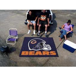 Click here to learn more about the Chicago Bears Tailgater Rug 5''x6''.