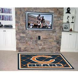 Click here to learn more about the Chicago Bears Rug 4''x6''.