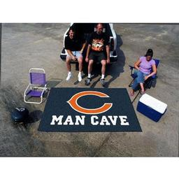 Click here to learn more about the Chicago Bears Man Cave UltiMat Rug 5''x8''.