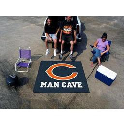 Click here to learn more about the Chicago Bears Man Cave Tailgater Rug 5''x6''.