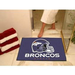"Click here to learn more about the Denver Broncos All-Star Mat 33.75""x42.5""."