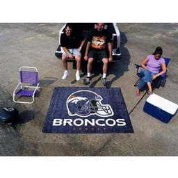 Click here to learn more about the Denver Broncos Tailgater Rug 5''x6''.