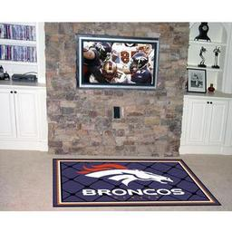 Click here to learn more about the Denver Broncos Rug 4''x6''.