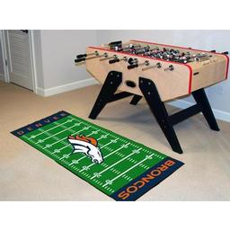 "Click here to learn more about the Denver Broncos Runner 30""x72""."