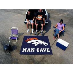 Click here to learn more about the Denver Broncos Man Cave Tailgater Rug 5''x6''.