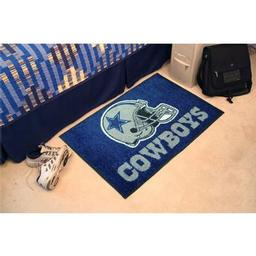 "Click here to learn more about the Dallas Cowboys Starter Rug 20""x30""."
