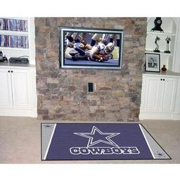 Click here to learn more about the Dallas Cowboys Rug 4''x6''.