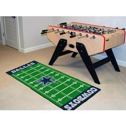 "Click here to learn more about the Dallas Cowboys Runner 30""x72""."