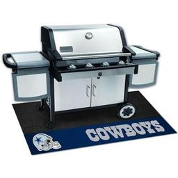 "Click here to learn more about the Dallas Cowboys Grill Mat 26""x42""."