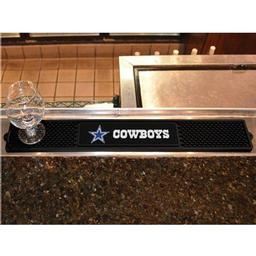 "Click here to learn more about the Dallas Cowboys Drink Mat 3.25""x24""."