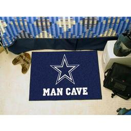 "Click here to learn more about the Dallas Cowboys Man Cave Starter Rug 19""x30""."