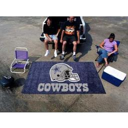 Click here to learn more about the Dallas Cowboys Man Cave UltiMat Rug 5''x8''.