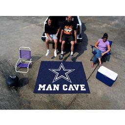 Click here to learn more about the Dallas Cowboys Man Cave Tailgater Rug 5''x6''.