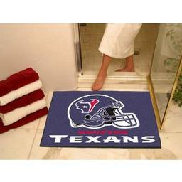"Click here to learn more about the Houston Texans All-Star Mat 33.75""x42.5""."