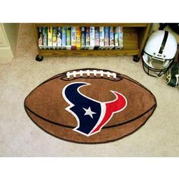 "Click here to learn more about the Houston Texans Football Rug 20.5""x32.5""."