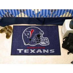 "Click here to learn more about the Houston Texans Starter Rug 20""x30""."