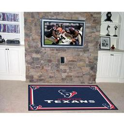Click here to learn more about the Houston Texans Rug 5''x8''.