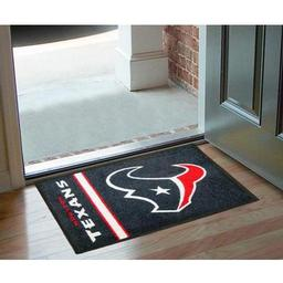 "Click here to learn more about the Houston Texans Uniform Inspired Starter Rug 20""x30""."