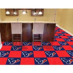 "Click here to learn more about the Houston Texans Carpet Tiles 18""x18"" tiles."