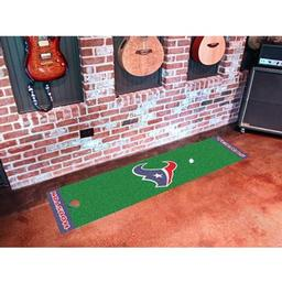 Click here to learn more about the Houston Texans PuttingNFL - Green Runner.