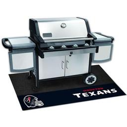 "Click here to learn more about the Houston Texans Grill Mat 26""x42""."