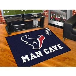 "Click here to learn more about the Houston Texans Man Cave All-Star Mat 33.75""x42.5""."
