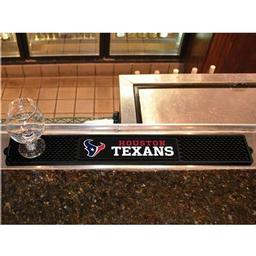 "Click here to learn more about the Houston Texans Drink Mat 3.25""x24""."