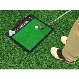 "Click here to learn more about the Houston Texans Golf Hitting Mat 20"" x 17""."